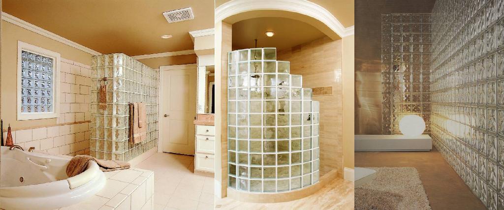 Pareti di vetro per esterni design casa creativa e for Pareti divisorie vetrocemento